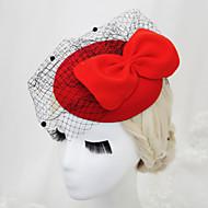 Women's / Flower Girl's Velvet / Net Headpiece - Wedding / Special Occasion Birdcage Veils 1 Piece