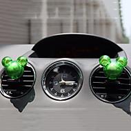 2pcs המכונית ניחוח צורה אקראית לפרוק בושם לשקע מטהר אוויר