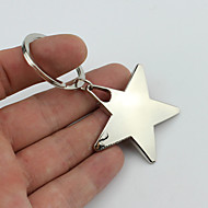 χαμογελαστά πεντάκτινο αστέρι στυλ μπρελόκ με μαλακό πλαστικό υλικό