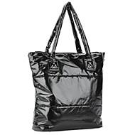 Fashion Lady's Down Shoulder Backpack / Hand Bag - Black