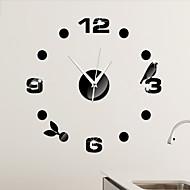 Muuta Moderni/nykyaikainen Seinäkello , Muuta Muovi 17*17 inch (43*43cm)