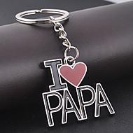 Λατρεύω papa keychain για το δώρο