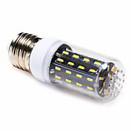4W E14 / E26/E27 LED Corn Lights T 56 SMD 4014 400 lm Warm White / Natural White AC 220-240 V 1 pcs