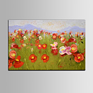 Red Color Flower DIY Frame IARTS Brand Wall Art