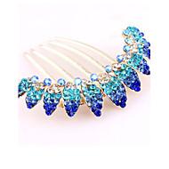Z&X® Fashion Vintage  Hair Combs Wedding / Rhinestone Party / Daily 1pc