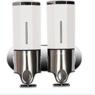 Dispensador de Sabonete Líquido Aço Inoxidável De Parede 22*8*24cm(8.6*3*9.5inch) Aço Inoxidável Contemporâneo