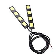 2pcs 12 centimetri 8w pannocchia 4 led auto corrente di giorno bar luce DRL della lampada di guida (DC12V)
