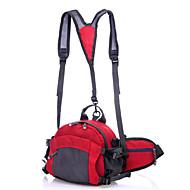 <10 L Csomag derékra / Hátizsákok / Túrázó napi csomag / Cell Phone Bag / Kerékpár Hátizsák / hátizsákKempingezés és túrázás / Mászás /