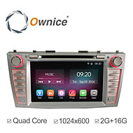 "8"" 2 Din In-Dash 1024*600 Car DVD Player For Toyota Camry 2006-2011 with Quad Core Android 4.4.2 GPS 2G Ram+16GB Flash"