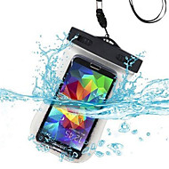 Universal PVC Underwater Waterproof Pouch Bag for iPhone 7 Samsung Galaxy S6/S6 Edge Huawei Sony Nokia Xiaomi and Other Cell Phone