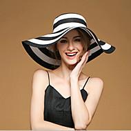 Women Linen/Straw Floppy Hat , Cute/Party/Casual Summer