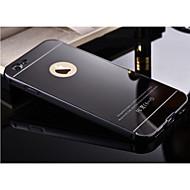 iphone 6S 6のバックカバー付高品質保護用の金属製バンパーフレームプラス