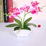 Polyester / PU Orchidej Umělé květiny