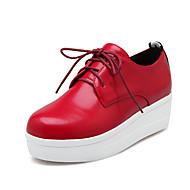 נשים-נעלי ספורט-מיקרופייבר-נוחות--יומיומי-עקב שטוח