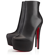 Women's Shoes Leatherette Stiletto Heel Heels / Platform / Fashion Boots / Bootie Boots Party & Evening / Dress /