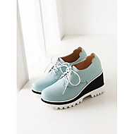 Women's Shoes Wedge Heel Round Toe Oxfords Shoes More Colors available