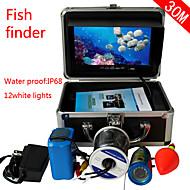 """7 """"kalakaiku vedenalaisen kameran 30m ammatillinen kalakaiku vedenalainen kalastus videokamera 1000tvl ca"""