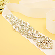 2016 New Satin Wedding / Party/ Evening Sash - Rhinestone Women's Sashes
