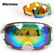 polarisierte Linse + orange Linse Skibrille Snowboardbrille Männer Frauen Allwetter uv Ski googles Schneebrille M0098