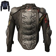 PRO-BIKER Motorcycle Protective Armor Enhanced Thickening  Motorcross Racing Full Body Armor Vests Black Protection Gear