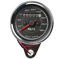 Miernik motocykl licznik kilometrów prędkościomierz wskaźnik dwukolorowe diody podświetlenia