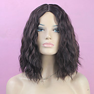 Natural Color Medium Syntheic  Wave Wig Extensions Girl Favourite Style