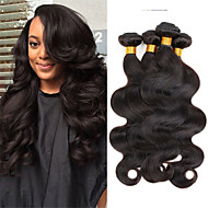 "Peruvian Body Wave 1b# Unprocessed Human Hair Extensions 16"" 50g"