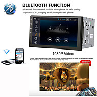 Universal Car DVD Player Android4.4 2 Din 7 inch 1024 x 768Built-in Bluetooth GPS Interface Steering Wheel Control 3G