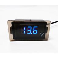 Motorrad / Auto-LED-Digitalvoltmeter