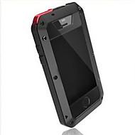 iphone 7 plus toophone® Joyland metal vesitiivis& naarmuuntumista takaisin iPhone 5 / 5s