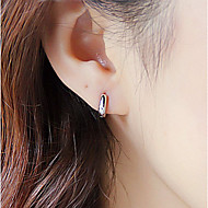S925 Fine Silver  Hoop Earrings for Men&Women,Fine Jewelry