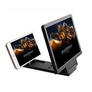 3d forstørret skjerm mobiltelefon forsterker forstørrelses brakett mobiltelefon holder