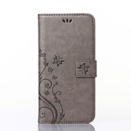 iphoneのための7固体panlongは、iPhone5の/ 5Sの周りオープン財布のホルスターを過ごします