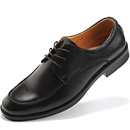 Men's Shoes Wedding / Outdoor / Office & Career / Party & Evening / Athletic / Dress / Casual Leather Oxfords Brown