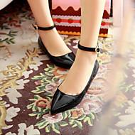 נעלי נשים - שטוחות - דמוי עור - שפיץ - שחור / כחול / צהוב / ירוק / אדום / Almond - שטח / משרד ועבודה / קז'ואל - עקב שטוח