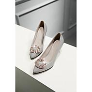 Women's Shoes Leatherette Stiletto Heel Heels / Pointed Toe Heels Casual Black / Pink / Gray