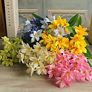 פוליאסטר חבצלות פרחים מלאכותיים