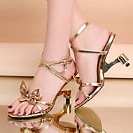 2016 New Arrivals Women's Shoes Summer Style Best Seller Heel Wedges / Heels / Peep Toe Sandals / Heels Wedding / Party & Evening / Dress Gold