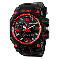 SKMEI® Super Shock Fashion Double Movement Rubber Band Sports Watch Cool Watch Unique Watch