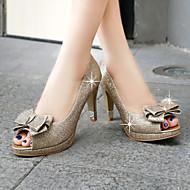 Magassarkú / Elől kivágott Lábujj / Platform - Stiletto - Női cipő - Szandál / Magassarkú - Esküvői / Ruha / Alkalmi - Szintetikus -