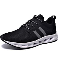 Men's Running Shoes Canvas / Tulle Black