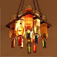 40W Lámparas Araña ,  Tradicional/Clásico / Rústico/Campestre / Cosecha / Retro / Campestre Galvanizado Característica for Mini Estilo