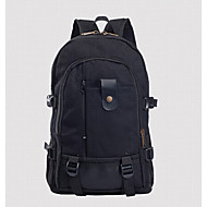 Men Canvas Backpack Brown / Black / Khaki