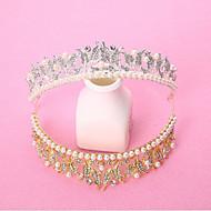 נשים סגסוגת כיסוי ראש-חתונה / אירוע מיוחד נזרים חלק 1