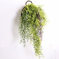 Afdeling Plastik Planter Vægblomst Kunstige blomster 80CM