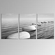Abstract / Modern / Romantisch / Pop Art / Fantasie / Vrije tijd / Landschap / Fotografisch Canvas Afdrukken Drie panelen Klaar te hangen