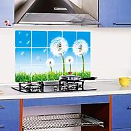 cozinha removível oilproof adesivos de parede com decalques resistentes casa água do estilo leão arte