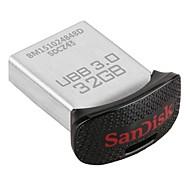 32GB cz43 אולטרה בכושר כונן עט פלאש USB 3.0 סדרת SanDisk המקורי (sdcz43-032g-g46) 130mb / s