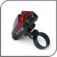 פנסי אופניים / פנס אחורי לאופניים LED / Laser - רכיבת אופניים עמיד למים AAA 80 Lumens סוללה רכיבה על אופניים-שיה SHENG