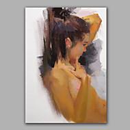 Pictat manual Culoarea pieliiModern Un Panou Canava Hang-pictate pictură în ulei For Pagina de decorare